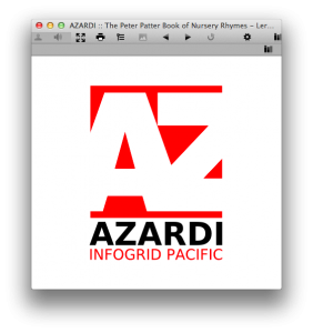 Azardi EPUB Reader